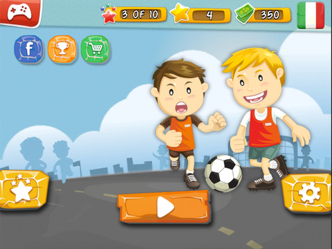 Alby Street Soccer 2015 - Real football game for big soccer stars by BULKY SPORTS [Premium] screenshot 10