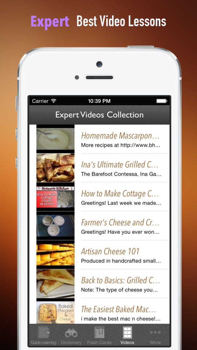 Cheese 101: Quick Study Reference with Video Lessons and Tasting Guide screenshot 5