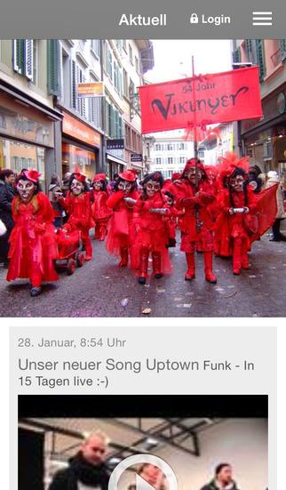 Vikinger Fasnachtsmusik Luzern screenshot 1