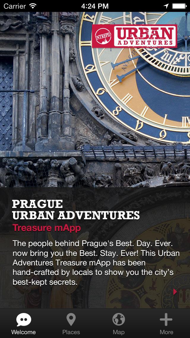 Prague Urban Adventures - Travel Guide Treasure mApp screenshot 1