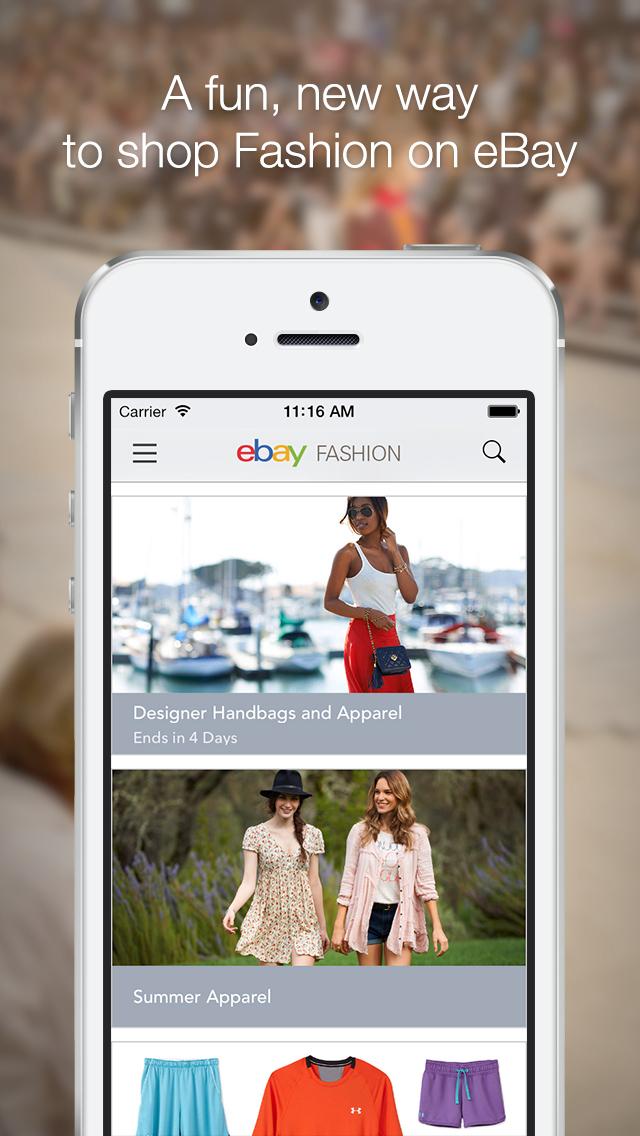 eBay Fashion screenshot 1