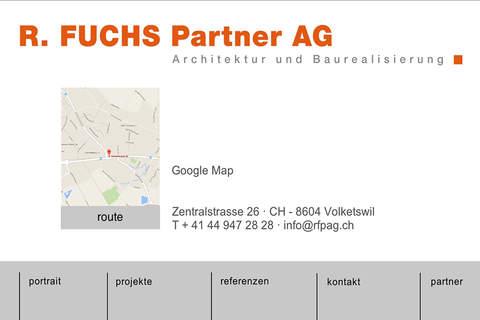 R. FUCHS Partner AG - náhled