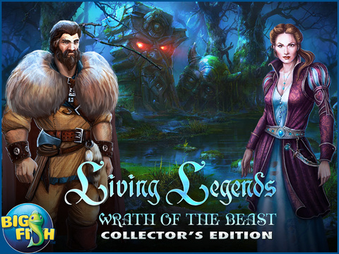 Living Legends: Wrath of the Beast HD - A Magical Hidden Object Adventure (Full) screenshot 5