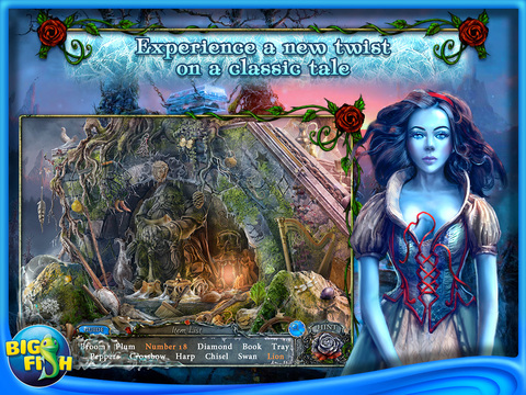 Living Legends: Frozen Beauty HD - A Hidden Object Fairy Tale screenshot 2