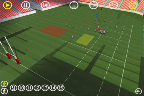 Rugby 3D Viewer - náhled