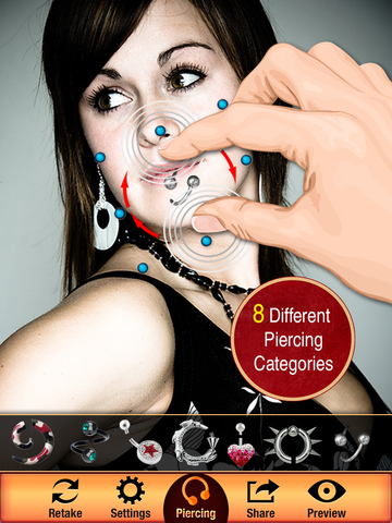 Body Piercing Booth screenshot 7