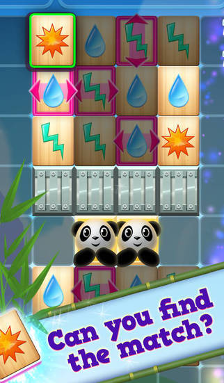 Panda PandaMonium: A Mahjong Puzzle Game screenshot #1