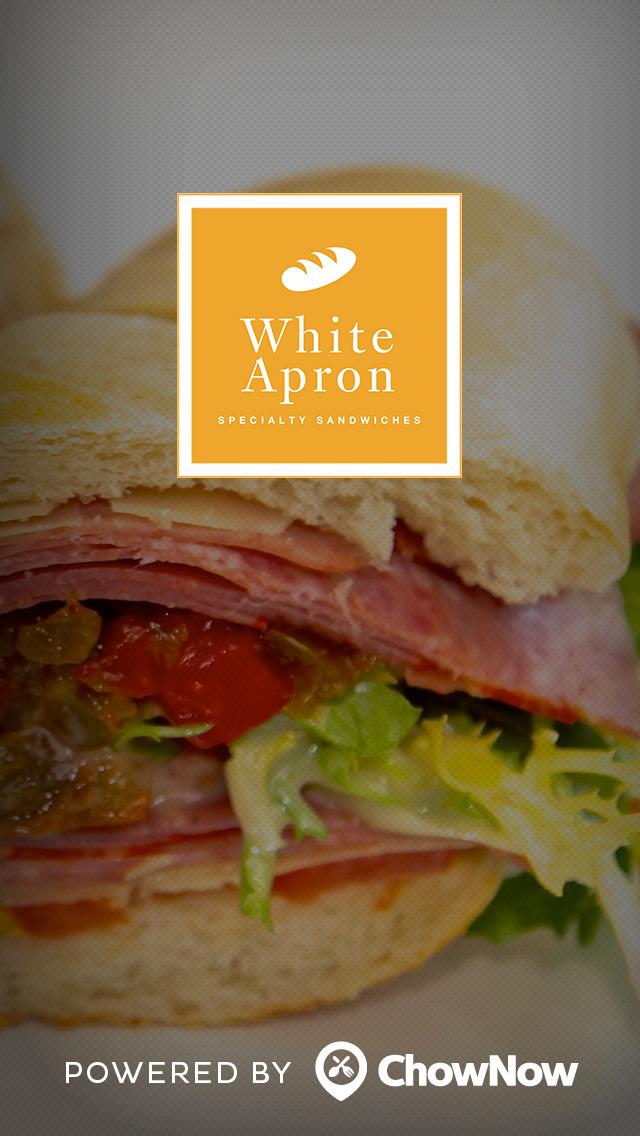 White Apron Specialty Sandwiches screenshot 1