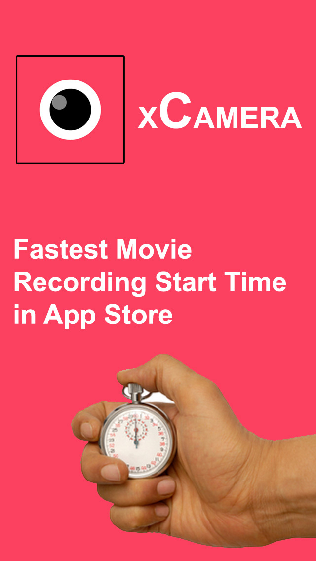 xCamera PRO + Instant One Tap To Display & Record Videos screenshot 1