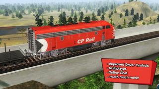 Trainz Driver 2 - train driving game, realistic 3D railroad simulator plus world builder screenshot #4