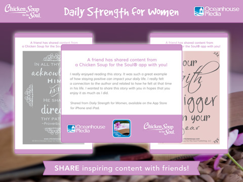 Daily Strength for Women from Chicken Soup for the Soul® screenshot 10