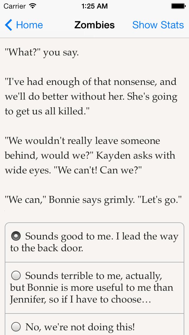 Choice of Zombies screenshot 2