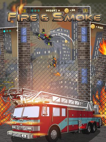 Fire & Smoke - Infernal Burning House Climber Game screenshot 6