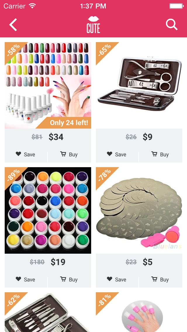 Cute - Beauty Shopping screenshot 2