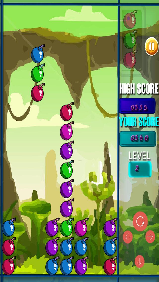 Bomb Blaster PRO - Fun 3 Matching Fun Brain Puzzle Games screenshot 4