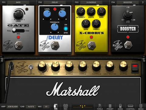 AmpliTube Slash for iPad screenshot 3