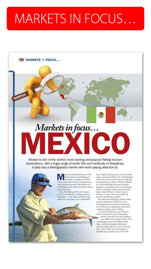 Tackle Trade World Magazine - Committed to increasing your business globally screenshot 3