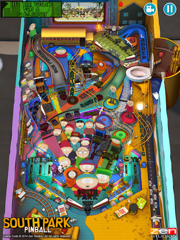 South Park™: Pinball screenshot 3