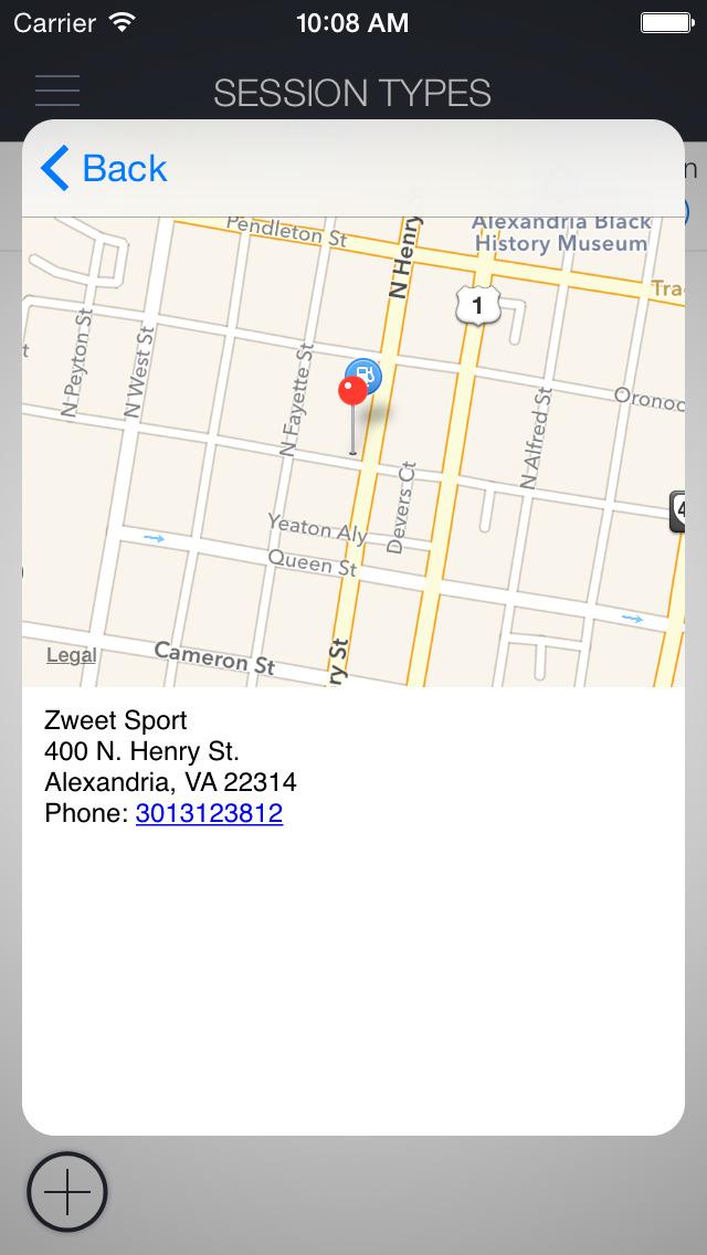 Zweet Sport Hot Yoga screenshot 4