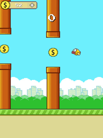 Flappy Hero Go West screenshot 5