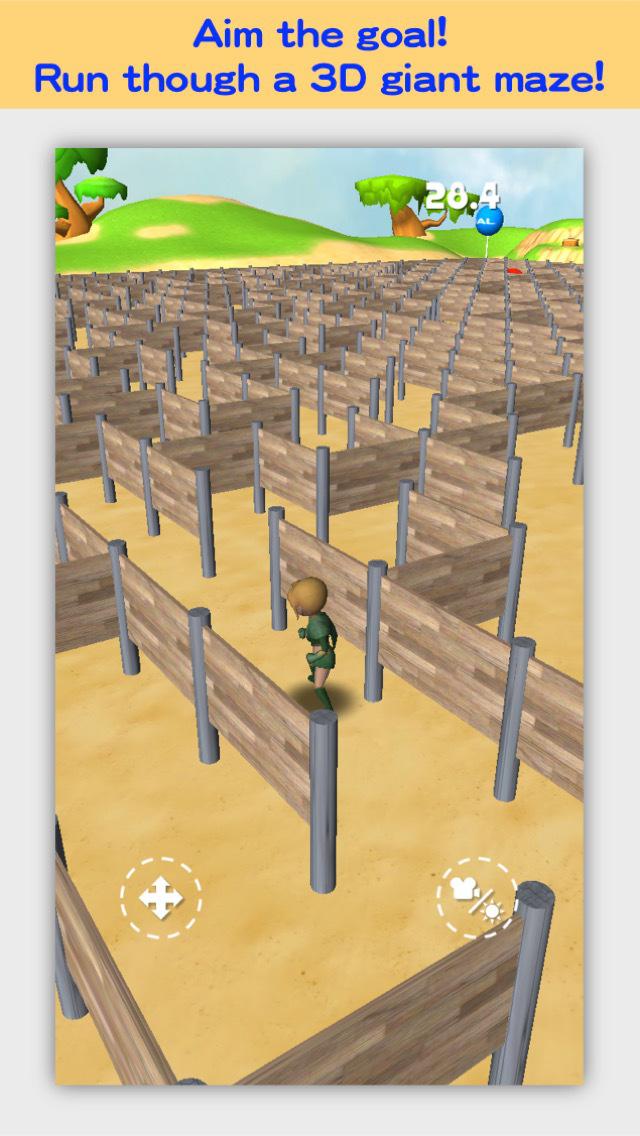 3D Maze Robo screenshot 1