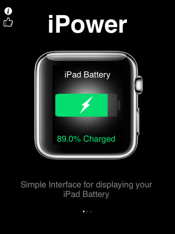 iPower - Glance Battery Usage For Watch screenshot 8