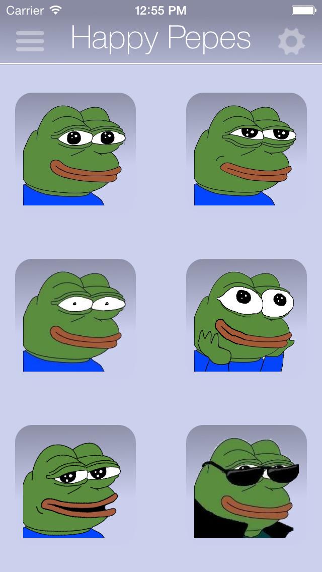 Rare Pepes for SMS (Sad Frog) screenshot 2