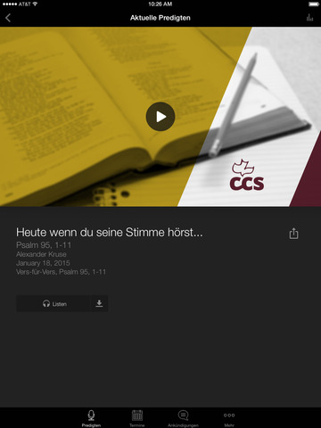 Calvary Chapel Siegen App screenshot 6