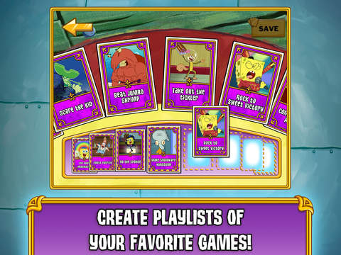 SpongeBob's Game Frenzy screenshot 10
