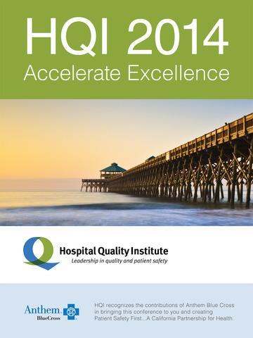 Accelerate Excellence HQI 2014 screenshot 4