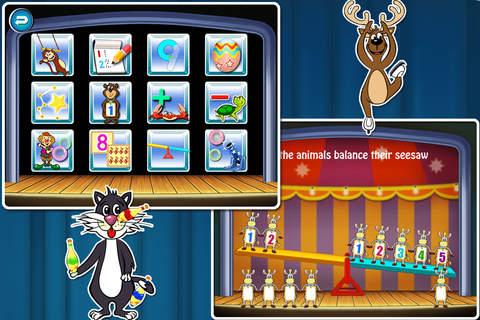 Animal Circus Math School-Educational Preschool Le - náhled