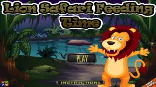 A Lion Safari Feeding Time Free Game screenshot 1