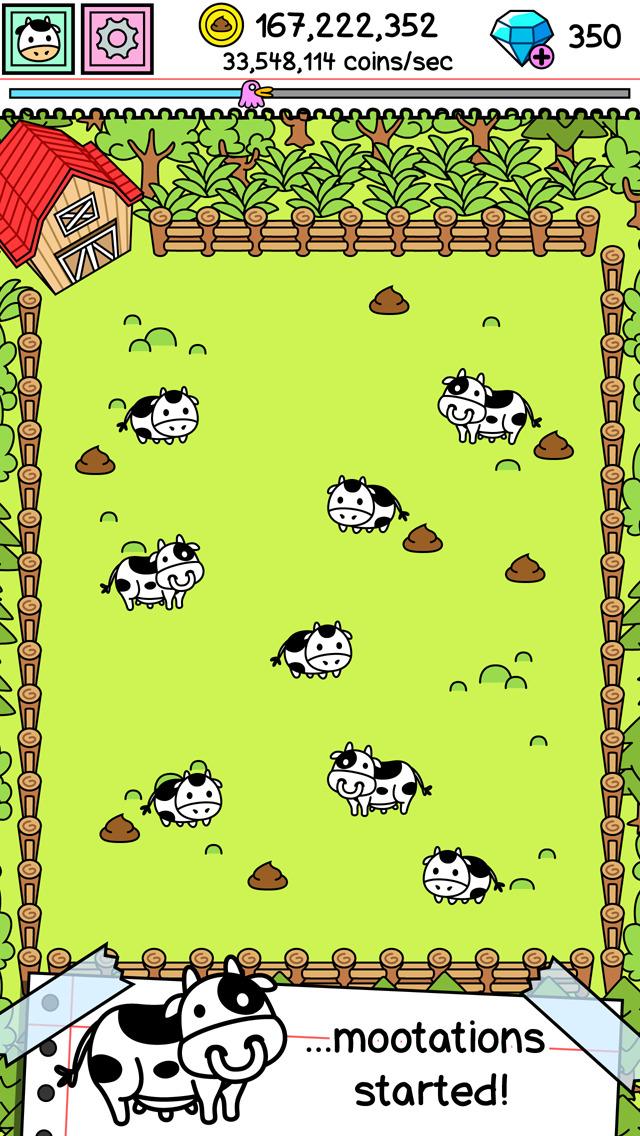 Cow Evolution | Clicker Game of the Crazy Mutant Farm screenshot #2