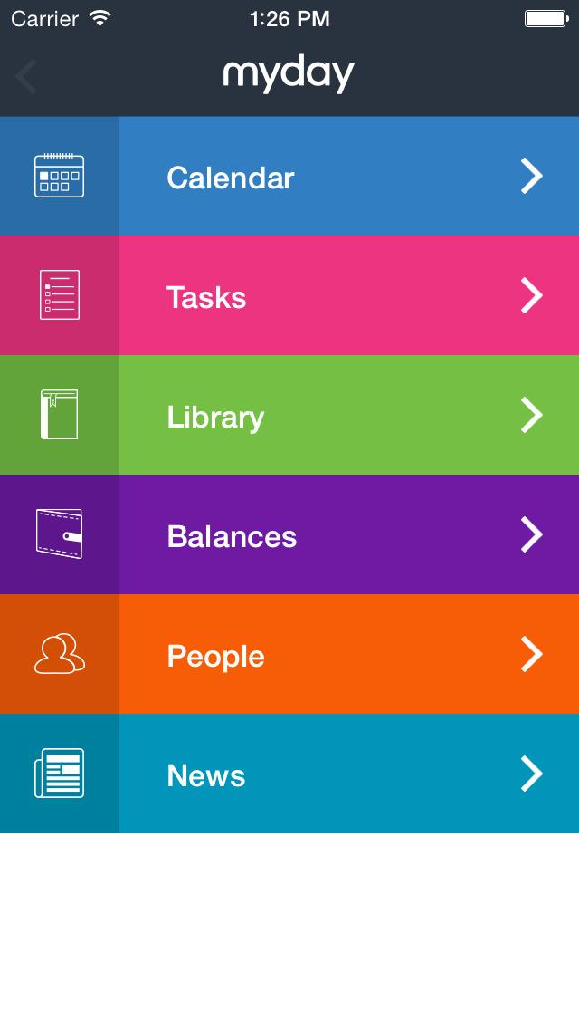 myday mobile v2 screenshot 1