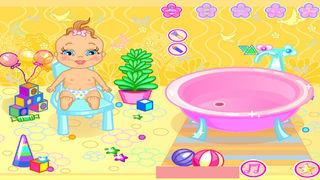 Help Baby A Bath screenshot 1
