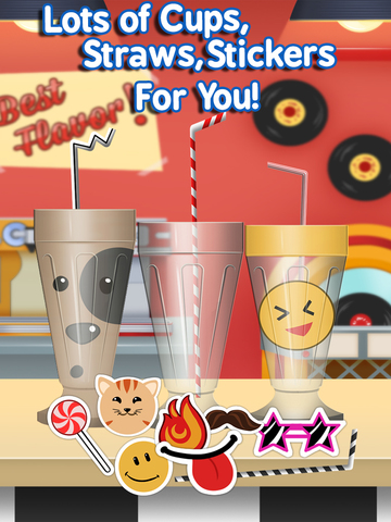 Awesome Ice Cream Candy Milkshake Dessert Maker Pro (Ad Free) screenshot 9