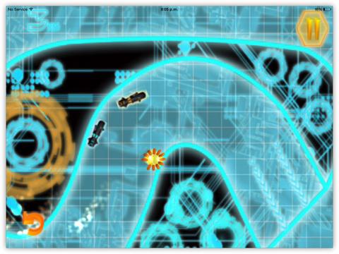 Bike Racing Pro : Smash Neon Cops In Impossible Race screenshot 6