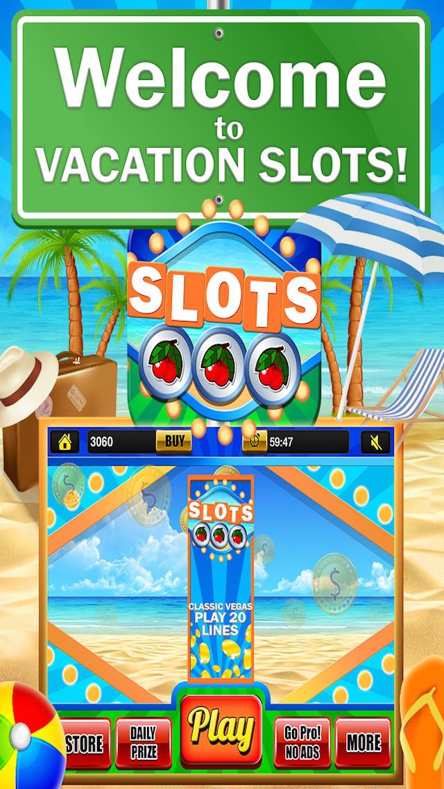 Ace Classic Vacation Slots Casino - Hawaii, Hollywood & Vegas Slot Machine Games Free screenshot 1