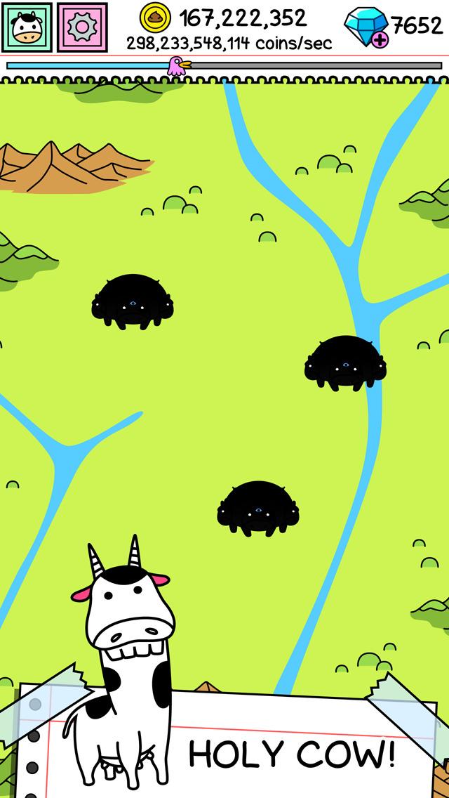 Cow Evolution | Clicker Game of the Crazy Mutant Farm screenshot #3