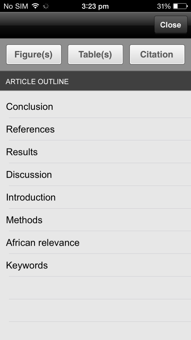 African Journal of Emergency Medicine screenshot 2