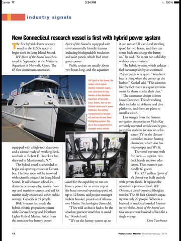 Professional Mariner Magazine screenshot 7