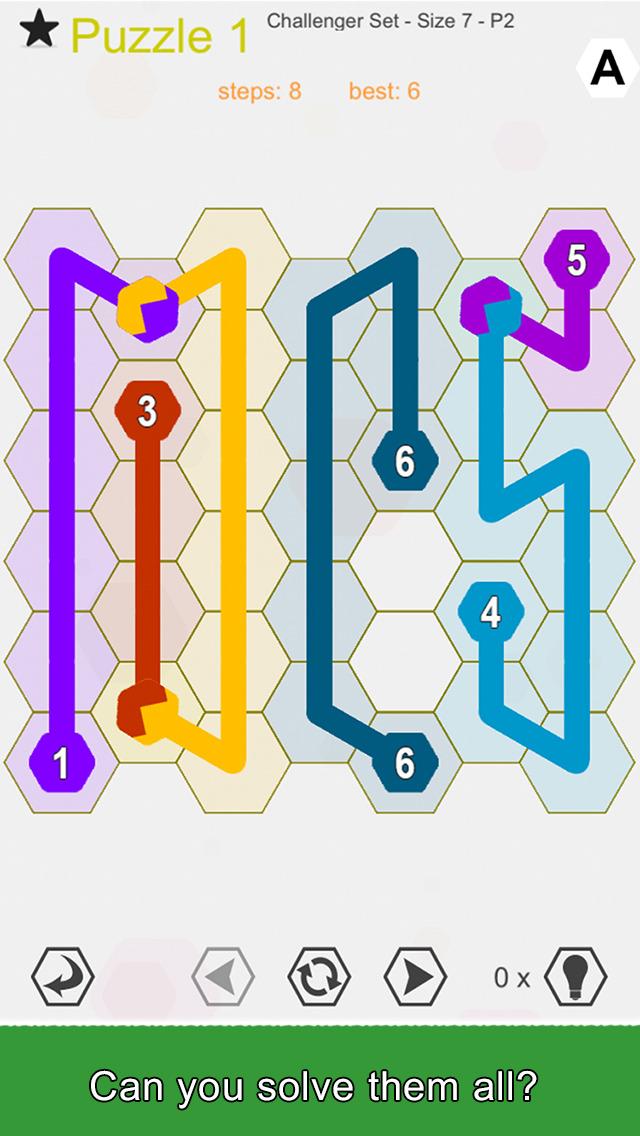 Hexic Link: Branch screenshot 4