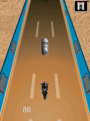 Radiation Fire Bike Pro - Furious One Touch Motorcycle Racing screenshot 7