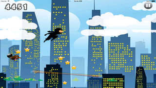 Clash Master Genius Ninja PRO - Run, Jump and Fly in the Dark City screenshot 5