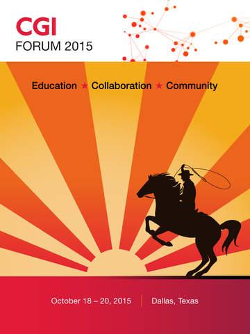 CGI Forum 2015 screenshot 3