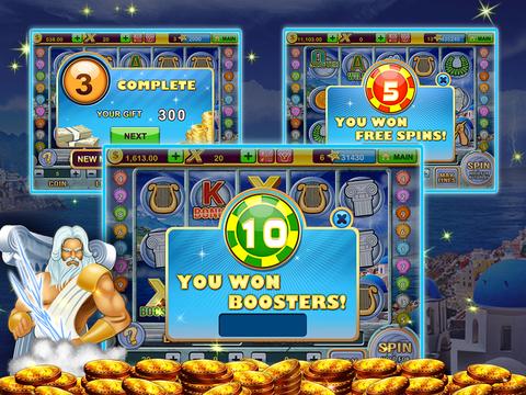 A Zeus Greek God High Roller Las Vegas Casino Slots screenshot 10