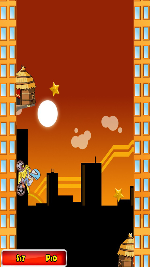 ` Impossible Jet Bike Ninja Run Riders Motorcycle Jump Free Game screenshot 3