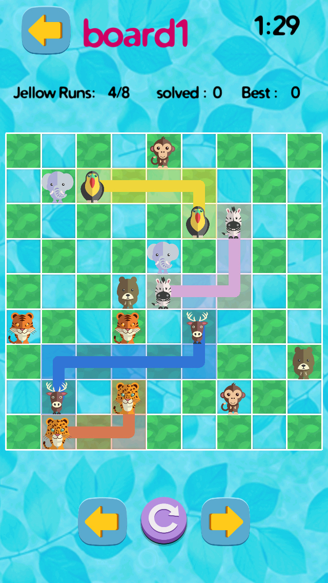 Jungle Jam Safari Strategy Game - Free Logic Test screenshot 5