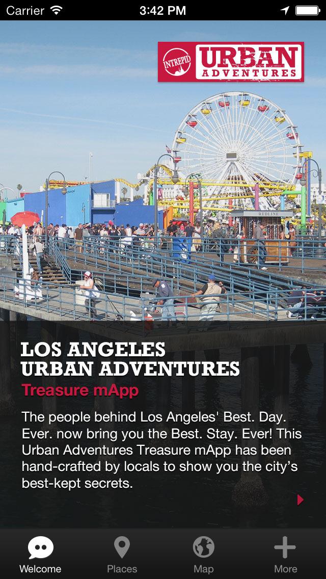 Los Angeles Urban Adventures - Travel Guide Treasure mApp screenshot 1