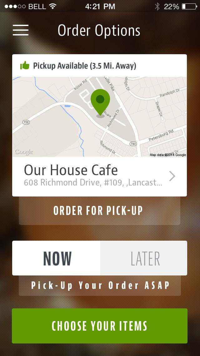 Our House Cafe screenshot 2